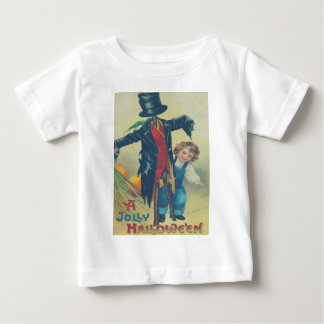Boy & Scarecrow Baby T-Shirt
