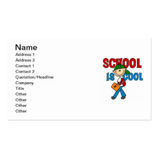Boy School is Cool Business Card