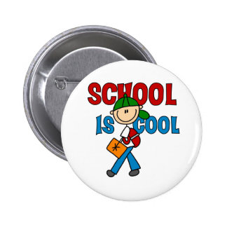 Boy School is Cool Button