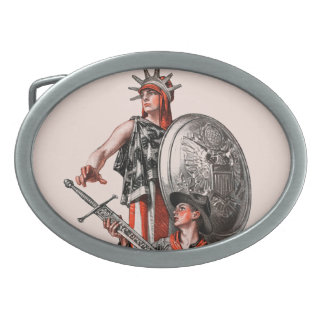 Boy Scout and Liberty Belt Buckle
