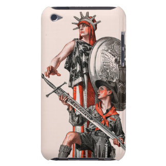 Boy Scout and Liberty iPod Touch Covers
