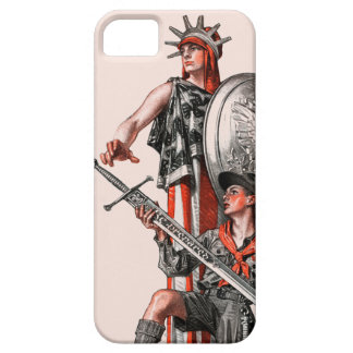 Boy Scout and Liberty iPhone SE/5/5s Case