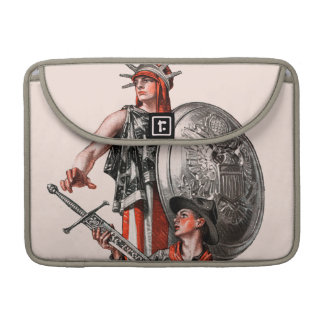Boy Scout and Liberty MacBook Pro Sleeve