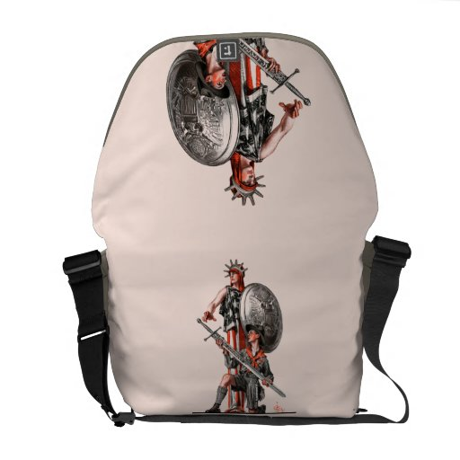 Boy Scout and Liberty Messenger Bag