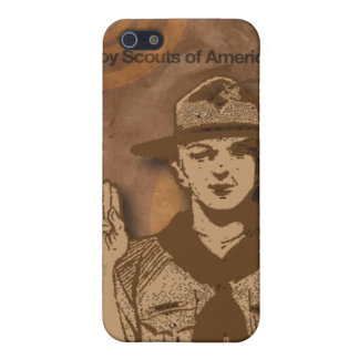 Boy scout de la caja del teléfono celular de Améri iPhone 5 Cárcasa