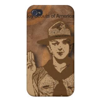 Boy scout de la caja del teléfono celular de Améri iPhone 4/4S Funda