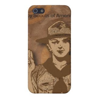 Boy scout de la caja del teléfono celular de Améri iPhone 5 Carcasa