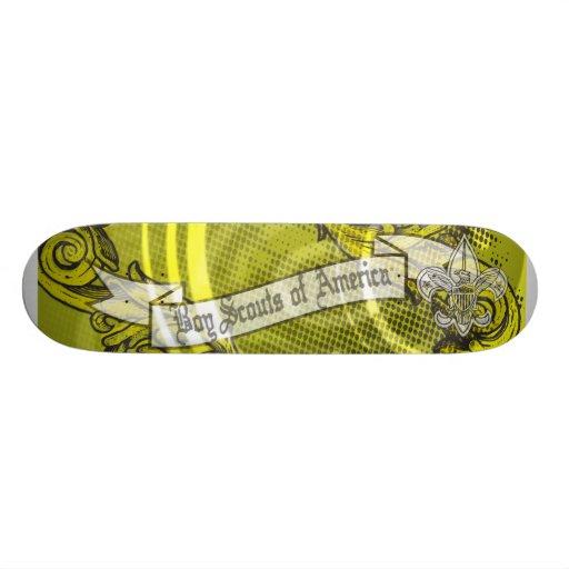 Boy scout del monopatín de América Skateboards