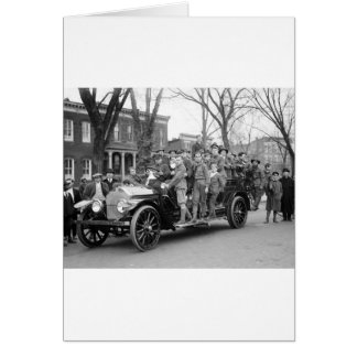 Boy Scout Fire Drill, 1910s Card