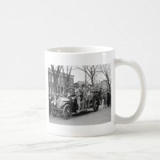 Boy Scout Fire Drill, 1910s Coffee Mug