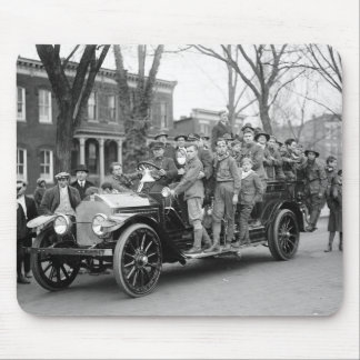 Boy Scout Fire Drill, 1910s Mouse Pad