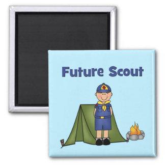 Boy scout futuro imán para frigorífico
