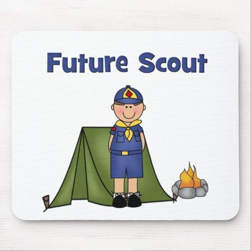 Boy scout futuro tapete de ratones