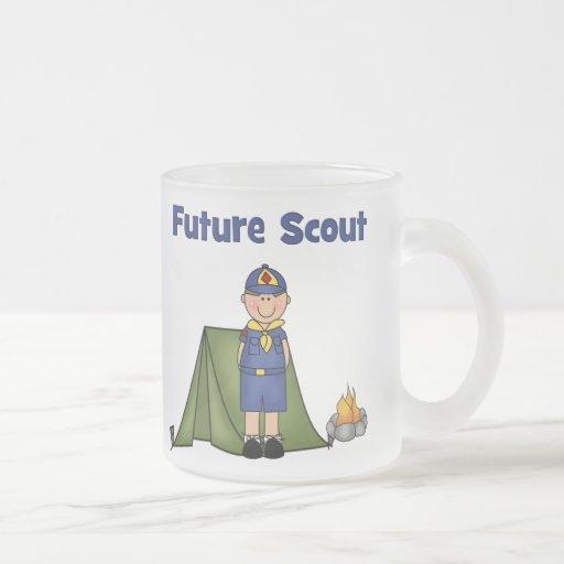 Boy scout futuro taza cristal mate
