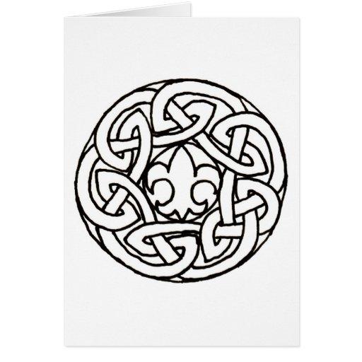 Boy Scout Knot card