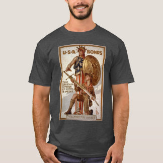 Boy Scout Liberty Loan Poster T-Shirt