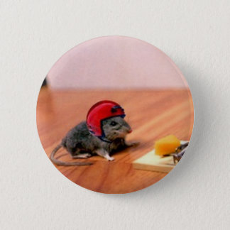 Boy Scout Mouse Pinback Button