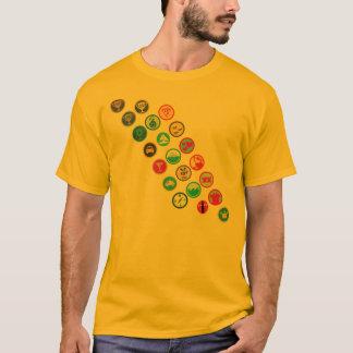 Boy-scout Sash T-Shirt
