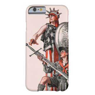 Boy scout y libertad funda de iPhone 6 barely there