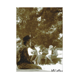 Boy Scouts Canvas Print