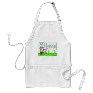 boy scouts comply brave trustworthy loyal kind adult apron