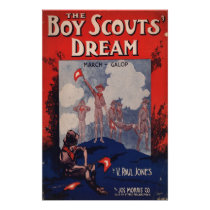 Boy Scouts Dream Poster