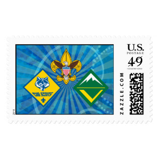 Boy Scouts of America Program Stamp