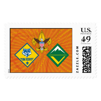 Boy Scouts of America Programs Stamp