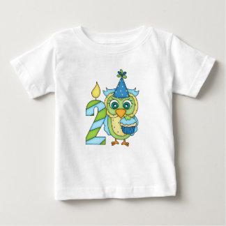 Boy Second ~ 2nd ~ Birthday ~ Cutest Owl! T Shirt