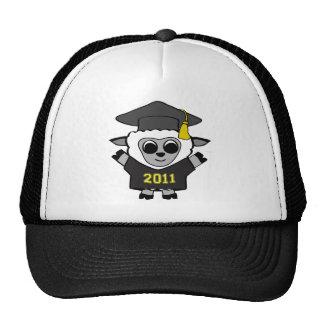 Boy Sheep Black & Gold 2011 Grad Trucker Hat