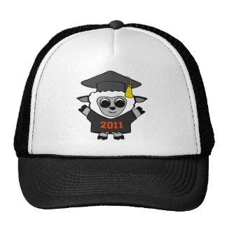 Boy Sheep Black & Orange 2011 Grad Trucker Hat