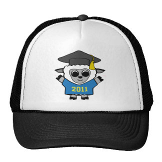 Boy Sheep Blue & Gold 2011 Grad Trucker Hat