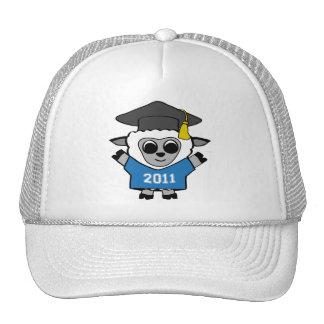 Boy Sheep Blue & White 2011 Grad Trucker Hat