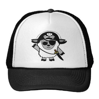 Boy Sheep in Pirate Costume Trucker Hat