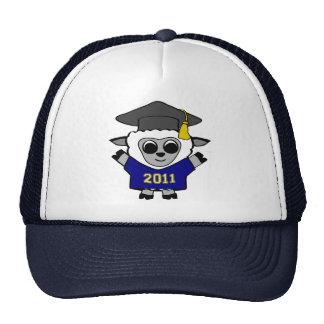Boy Sheep Navy & Gold 2011 Grad Trucker Hat