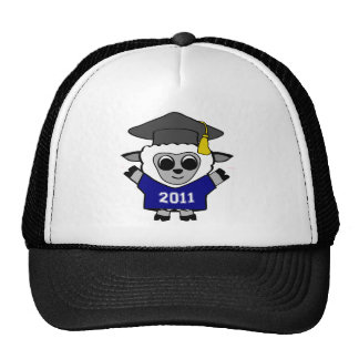 Boy Sheep Navy & White 2011 Grad Trucker Hat