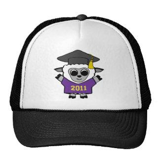 Boy Sheep Purple & Gold 2011 Grad Trucker Hat