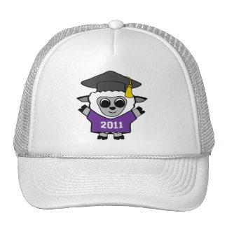 Boy Sheep Purple & White 2011 Grad Trucker Hat