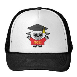 Boy Sheep Red & Gold 2011 Grad Trucker Hat
