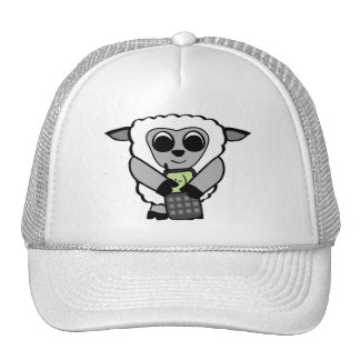 Boy Sheep with Cell Phone Hats