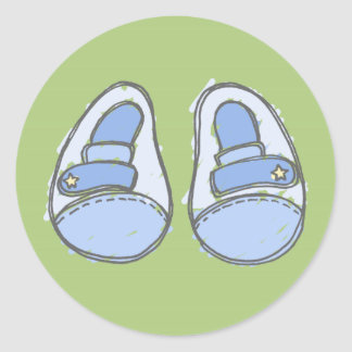 Boy Shoes Stickers