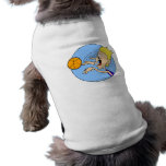 Boy shooting ball doggie tee shirt