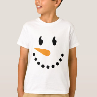 Boy Snowman T-shirt (Design 3)
