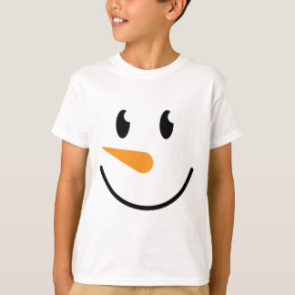 Boy Snowman T-shirt (Design 5)
