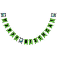 Boy Soccer Birthday Party Banner