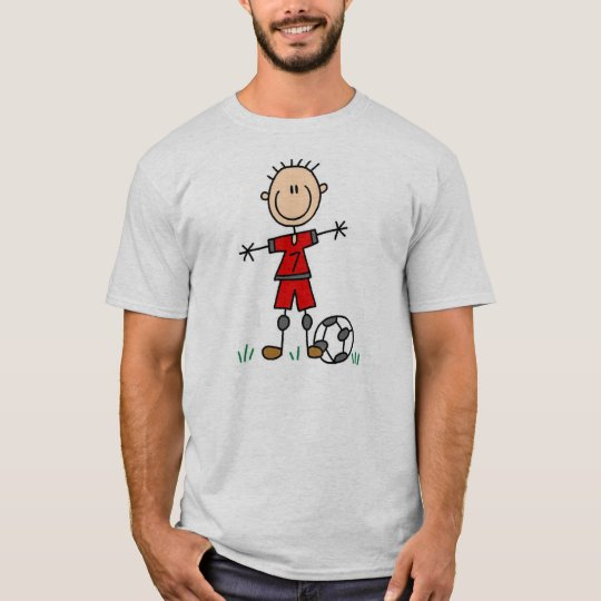 Boy Soccer Player T-shirt