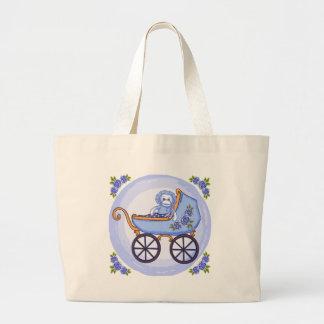 Boy Sock Monkey Buggy Bags