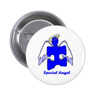 Boy Special Angel Pinback Button