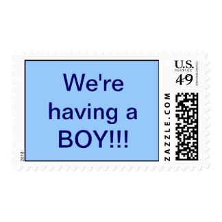 Boy Stamp