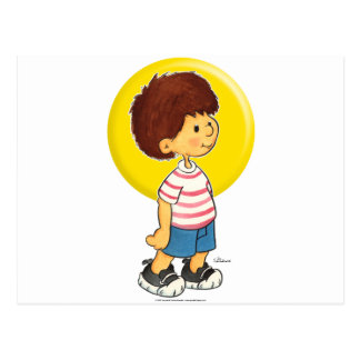 Boy Standing Post Cards